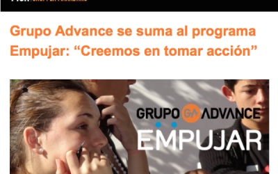 Difusión de nuestro programa Empujar realizada por Mch Shopper Marketing