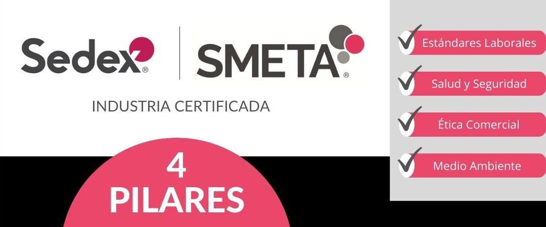Certificación SEDEX SMETA